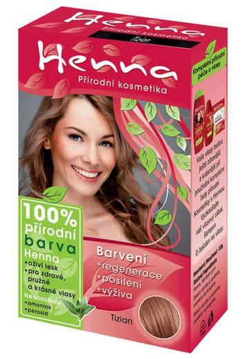 Henna - přírodní barva na vlasy 33g Tizian 173a0f6d2b4